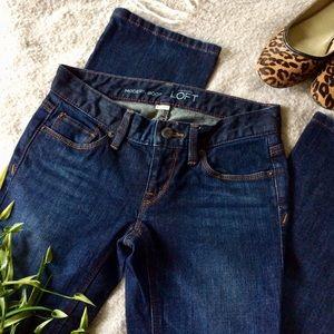 Ann Taylor LOFT Modern Bootcut Jeans size 0P